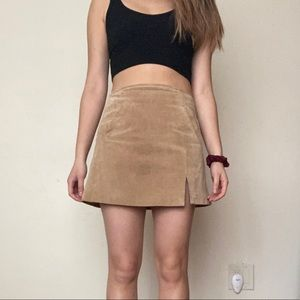 Blank NYC Suede Skirt